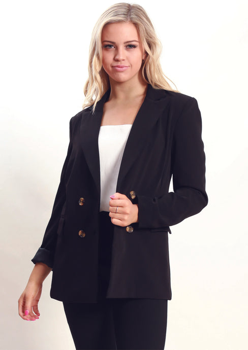 AY058SS Button Front Blazer (Pack) New Arrivals