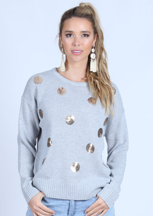RV0376-2SS Sequin Spot Jumper (Pack) New Arrivals