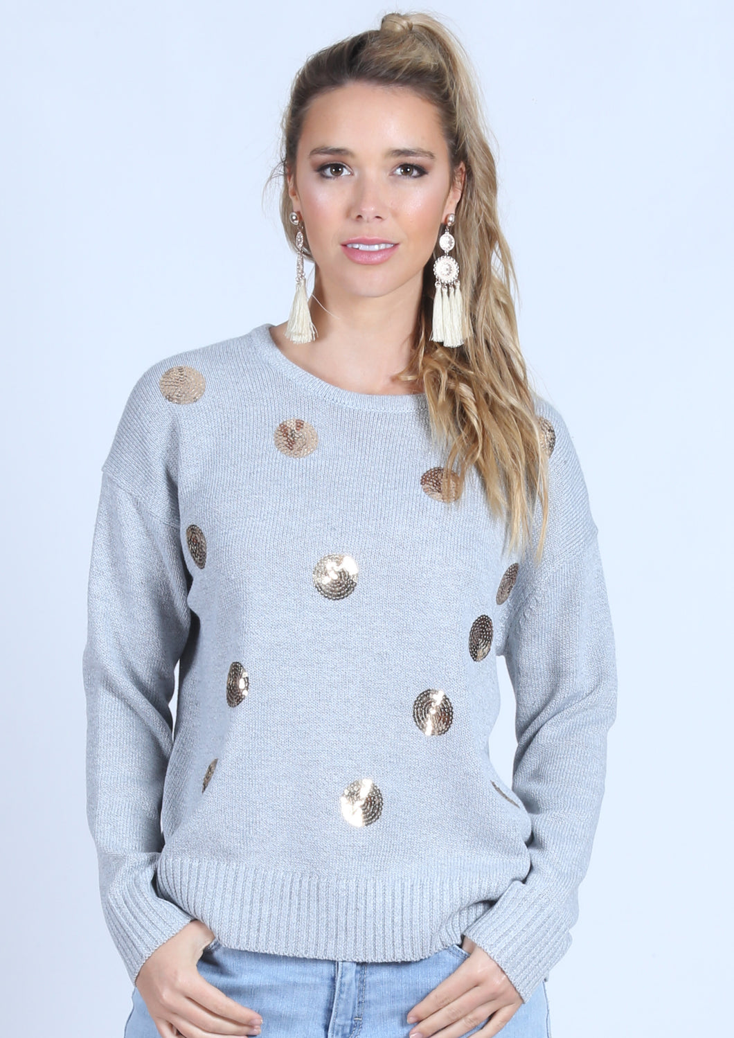 RV0376-2SS Sequin Spot Jumper (Pack)