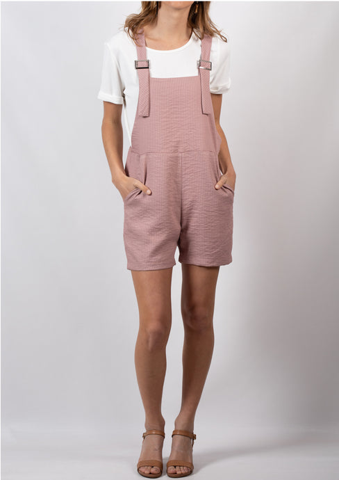 YW2169-1MD Dusty Pink Overalls (Pack)