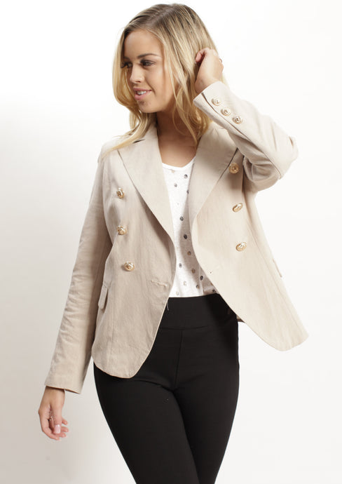 AY020SS Button Front Blazer (Pack) New Arrivals