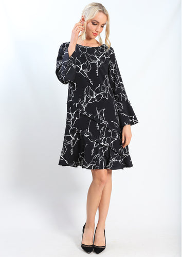AY120TB Floral Outline Dress (Pack) New Arrivals