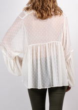 ZW16533SS Sheer Boho Top (Pack)