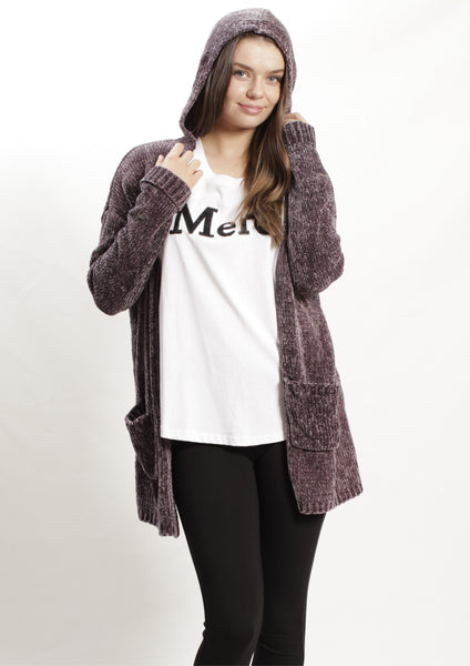 LY1956B Hooded Midi Cardigan (Pack) New Arrivals