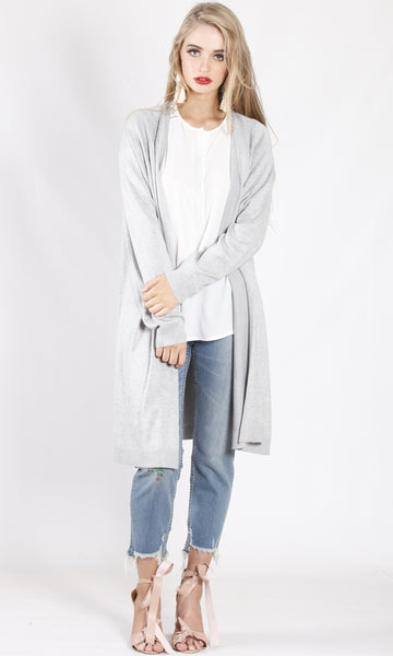ZWL10823B Relax Fit Longline Cardigan (Pack) New Arrival