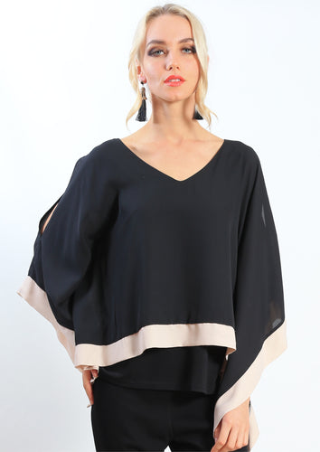 AY198NC Kaftan Butterfly Sleeves Top (Pack) New Arrivals
