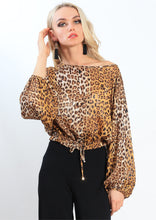 AY212SS Leopard Print Top (Pack)