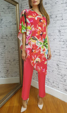 BS716030-7TB RED FLORAL JUMPSUIT (Pack)