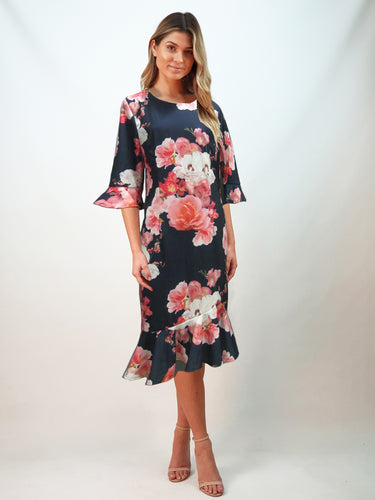 TG2534-2NC Floral Dress (Pack) On Sale