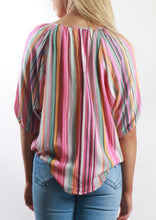 YW2242-1SS Multi-Coloured Stripe Top (Pack)