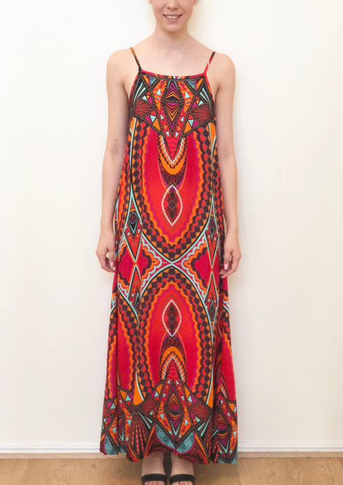 VY0361SS Tribal Maxi Dress (Pack) New Arrival