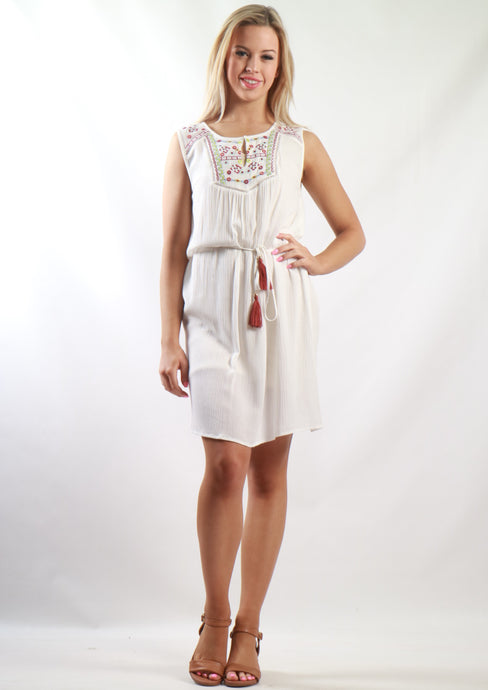 ZW16527SS Embroidered Dress (Pack) New Arrival