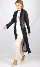 YW1850SS Long Sheer Robe With Belt (Pack)