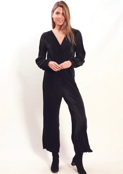 LA0026SS Pleated Jumpsuit (Pack)