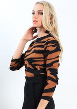 ZW009SS Long Sleeve Tiger Print Top (Pack) New Arrivals