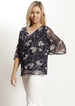 V616NC Chiffon Floral Top (Pack) New Arrival