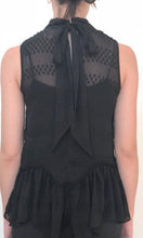 YW17056SS High Neck Sleeveless Peplum Top (Pack)