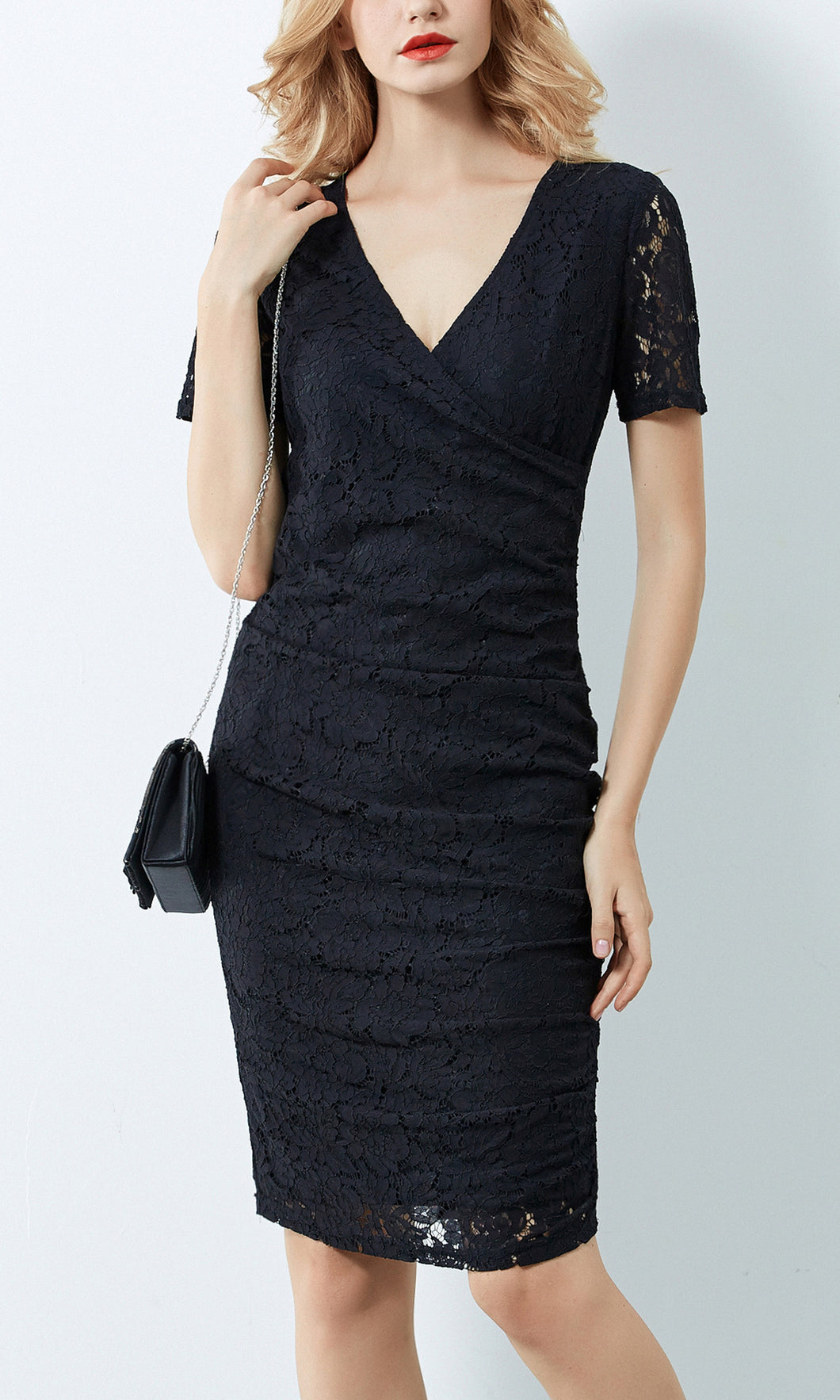 BS816026TB Fine Lace Dress (Pack)