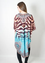 VY0438SS Zebra Stripe Long Cardigan (Pack)