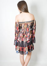 VY250SS Dark Floral Mini Dress (Pack)