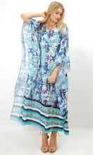 JS0197-1SS Shades of Blue Kaftan (Pack)