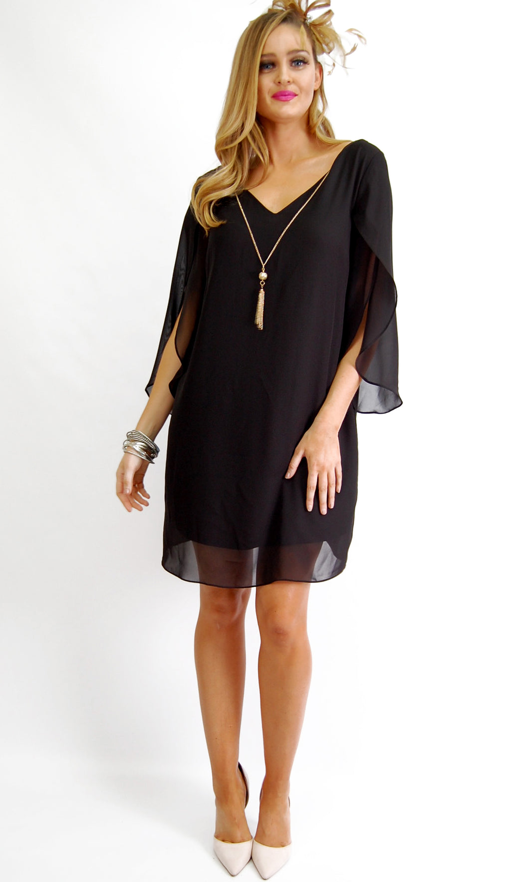JS0171-1NC Relaxed Shift Dress (Pack)