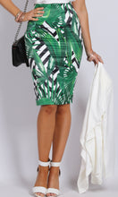 BS1116032-4TB Tropical Print Pencil Skirt (Pack)