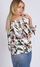 Off Shoulder Puffy Sleeves Top