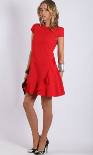 Cap Sleeve Shift Dress