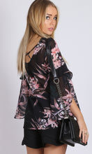 RC0634-5SS Dark Floral Blouse (Pack)