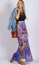 HS16049-13SS Double Side Split Maxi Skirt (Pack)