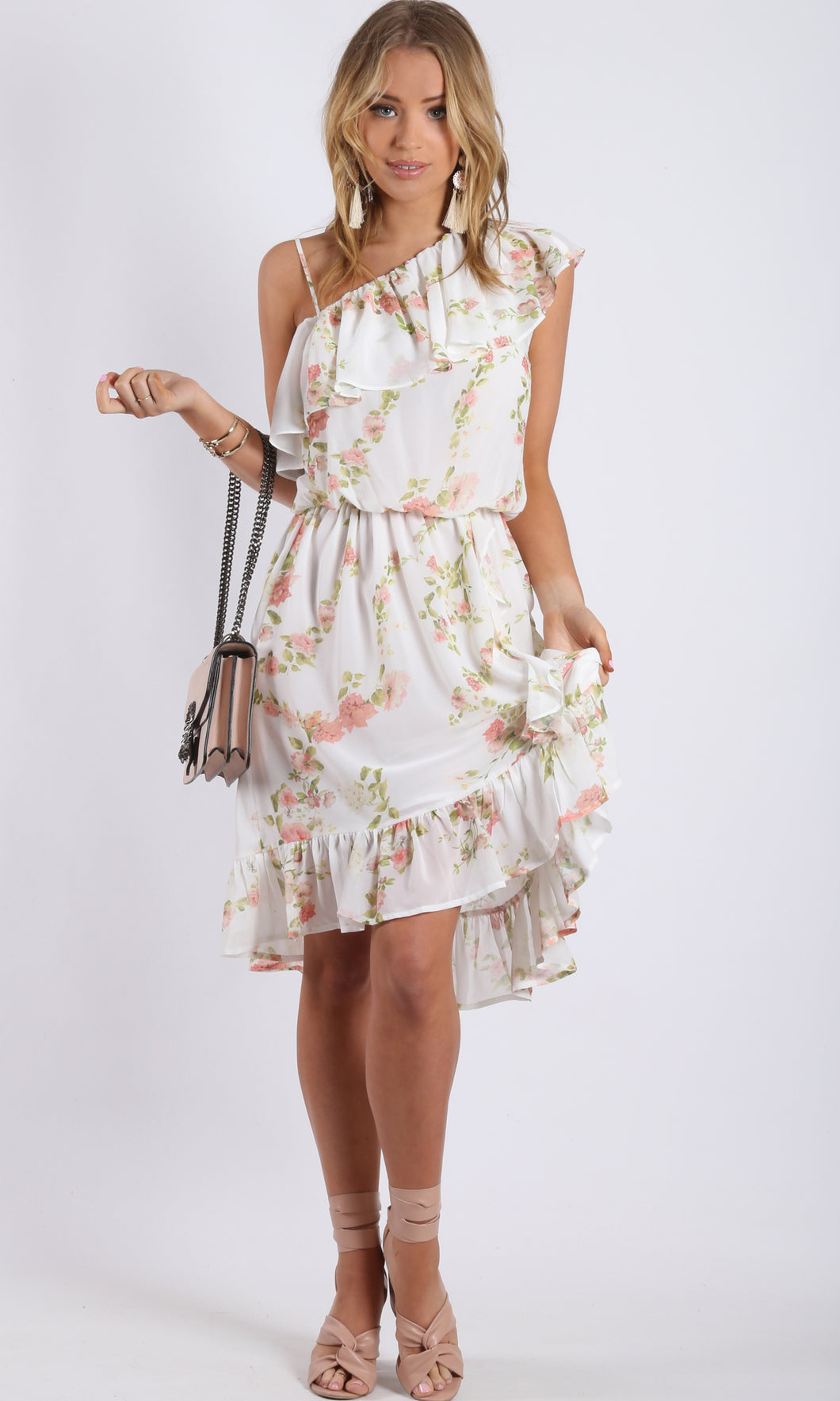 XW16119SS Vintage Ruffle Dress (Pack) On Sale