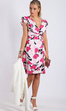 HS0082-8TB Pink Mono Wrap Dress (Pack) On Sale