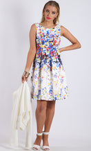 BD141182-89TB A-line Pleated Floral Dress (Pack)