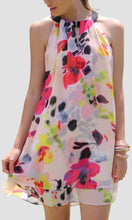 JS0224-3TB Fluo Printed Tunic Dress (Pack)