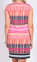 VS0009TB Printed Shift Dress (Pack)