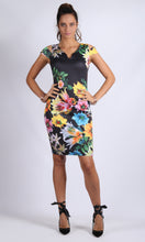 Body Con Floral Printed Dress