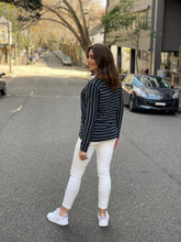 AS0211-2NC Striped Print Long Sleeve Basic (Pack)