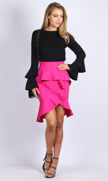 RV0836SS Spanish Inspired Ruffle Skirt (Pack) On Sale