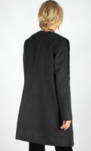 Collarless Velvet Yoke Jacket
