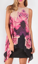 BS1016049NC Floral Overlay Dress (Pack)