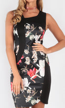 VS008-2TB Oriental Floral Dress (Pack)