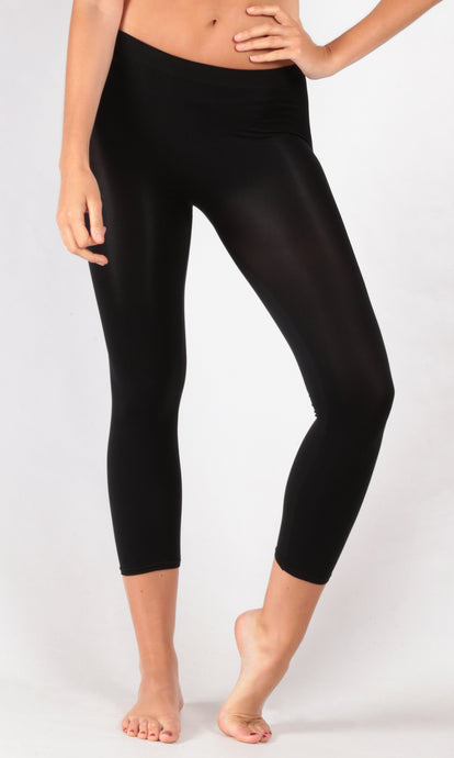 050687SS Light Weight Soft 3/4 Leggings BUY ONE PACK, GET ONE FREE! (Pack) On Sale