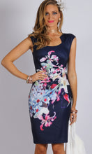 VS0015-18TB Sateen Floral Dress (Pack)