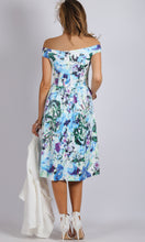 BS1016001-2TB Off Shoulder High Low Floral Dress (Pack)