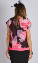 VS7126NC Floral Print Chiffon Top (Pack)