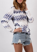 YW2139-1SS Tie Dye Wrap Top (Pack)