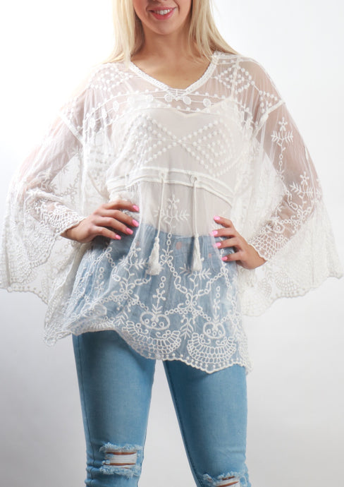 XX002SS Sheer Detailed Peplum Top (Pack) New Arrival