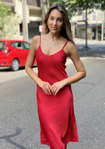 LA0670SS Satin Slip Dress (Pack) New Arrival