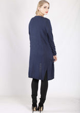 LY17390B Longline Cardigan With Side Slits (Pack) New Arrival